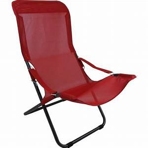 Chaise Longue Aluminium : chaise longue fiesta m tal anthracite ~ Teatrodelosmanantiales.com Idées de Décoration