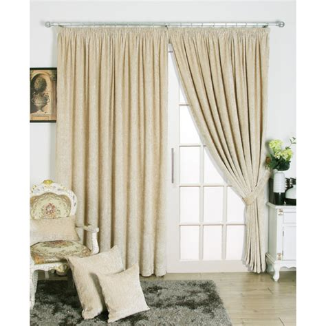 beautiful chenille fabric bedroom curtains