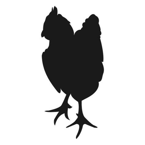 Silueta de la gallina de pie Descargar PNG/SVG transparente