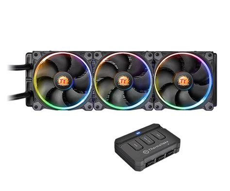 best static pressure rgb fans thermaltake water 3 0 triple riing rgb 360 aio liquid cpu