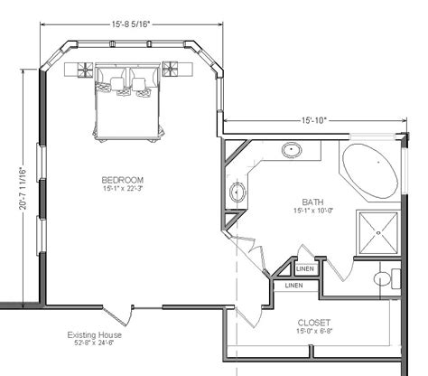 master suite plans master bedroom addition