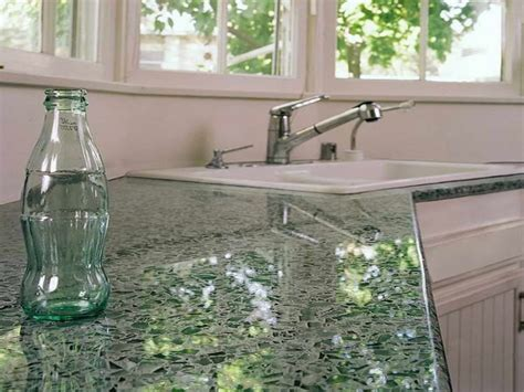 Recycled Glass Countertops Lowes by Inspirations Excellent Material Countertop Ideas With