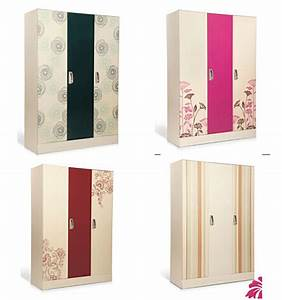 New style cheap steel wardrobe bedroom steel almirah for Bathroom almirah designs