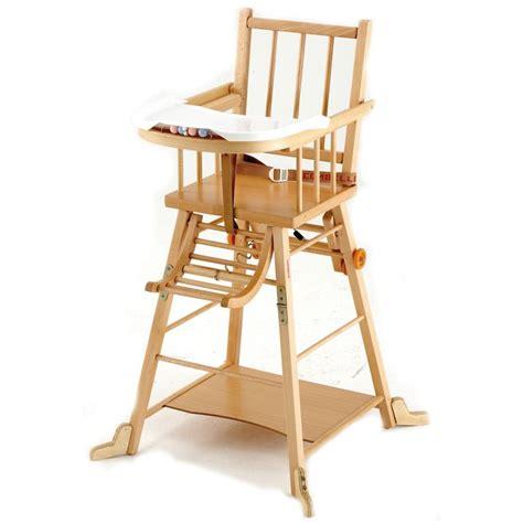 chaise bebe en bois le catalogue d 39 idées