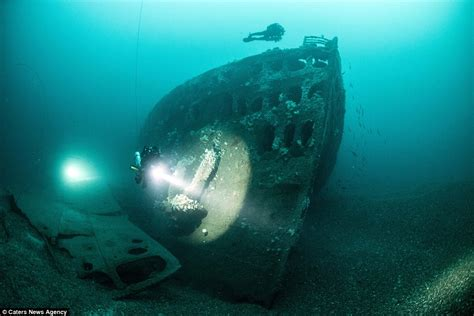 Titanic Sunk By U Boat by Photographs Show How The Coast Is Littered With