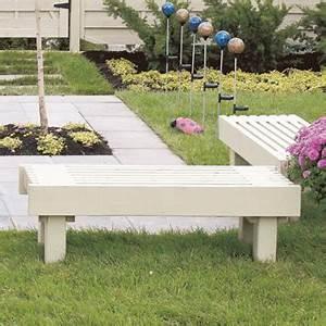 Banquette Bois Exterieur : construire un banc de jardin plans de construction rona ~ Farleysfitness.com Idées de Décoration