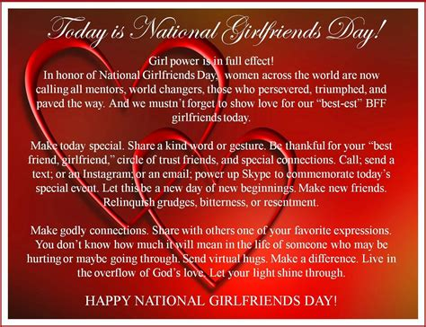 happy girlfriends day  pictures