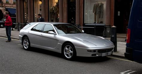 This 2001 ferrari 456gta is an gorgeous example with only 25k miles from new. When you want a Ferrari but also an estate car, just get Pininfarina to design one [Ferrari 456 ...