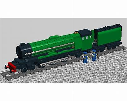 Moc Flying Scotsman Apple Lego Train Rebrickable