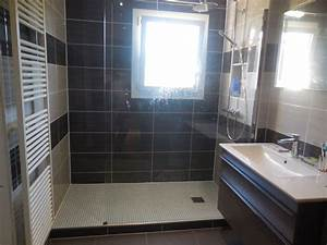 Modele Salle De Bain Avec Douche Italienne : modele de salle bain avec douche inspirations et photo ~ Premium-room.com Idées de Décoration