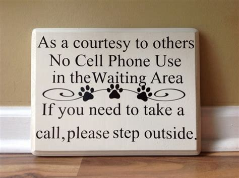 No Cell Phone Use As A Courtesy To Others No Cell Phone Use