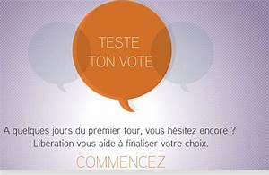 Test Qui Voter : teste ton vote sur lib ration le test qui affine ton choix pour la pr sidentielle ~ Medecine-chirurgie-esthetiques.com Avis de Voitures