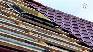 Plechová střecha lindab