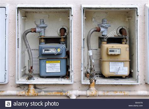 Gas Meter Cupboard Doors by Gas Meter Cupboards Without Doors On External Wall Of