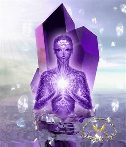 Yoga Luz Trippy Portal Purple Llama