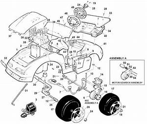 Power Wheels Hot Shot Parts