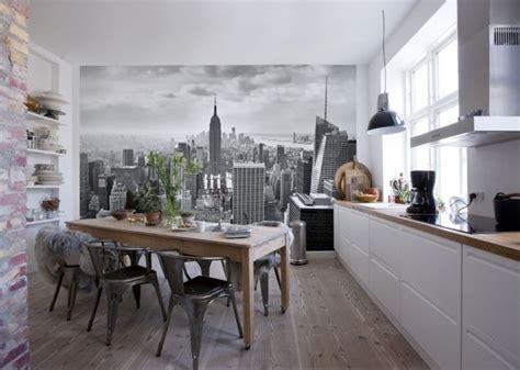 papier peint pour cuisine blanche 25 best ideas about papier peint brique blanche on papier peint rustique style