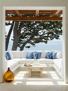 schoner garten und toller balkon gestalten ideen und With französischer balkon mit kissen für den garten