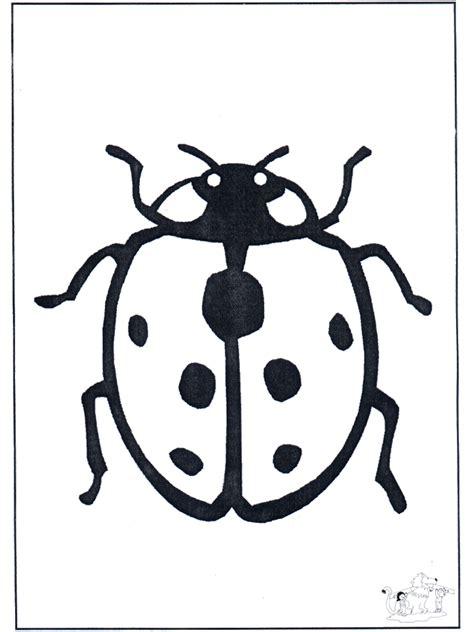 marienkaefer  malvorlagen insekten