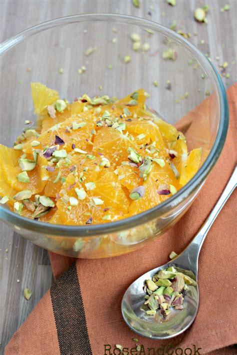 salade d oranges au miel et pistaches dessert de f 234 tes l 233 ger rapide et 233 conomique cook