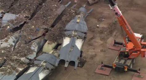 australias defunct   bomber fleet buried