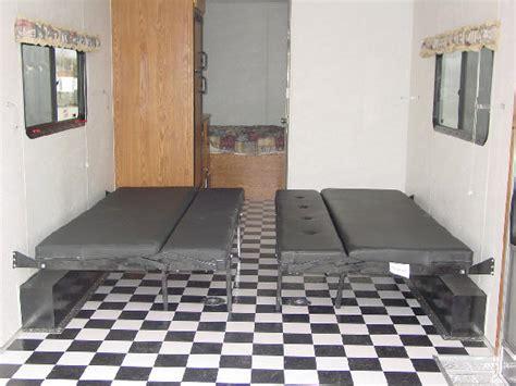 bathroom design images millenium enclosed trailers 26 ft escape beds