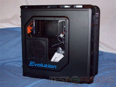 pc side panel fan review of cougar evolution full tower pc case technogog