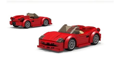 lego ferrari spider instructions youtube