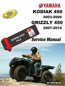 Yamaha 2011 Grizzly 450 Service Manual