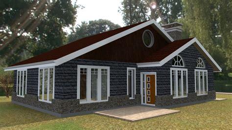 elegant  bedroom bungalow house plan david chola