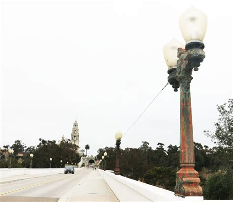 cabrillo bridge lights to be restored san diego downtown