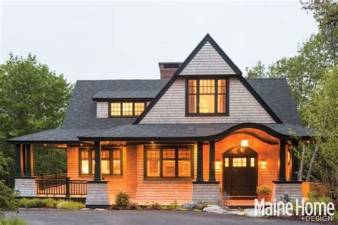 Shinglestyle Roots  Maine Home + Design