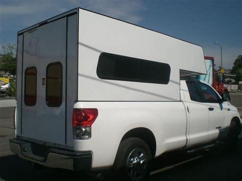 camper truck pickup door bed campers tundra toyota cab windows fiberglass cabover slide sliding workmate shell shells camping aluminum side