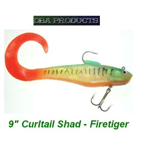 Buy A Boat Put Out Or Swim by 6 Quot Curly Shad Mackerel By Fishing Weight Moulds By