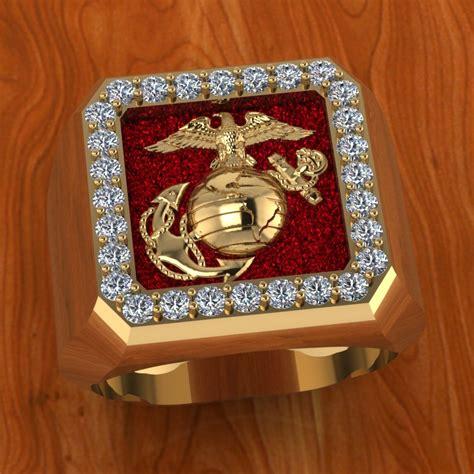 elegant usmc wedding rings matvuk com