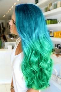 Which DIY turquoise ombre hair dye would boost your ...