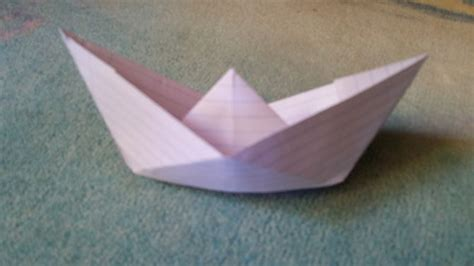 How To Make A Paper Boat Out Of Notebook Paper by How To Make A Paper Boat 11 Steps With Pictures Wikihow