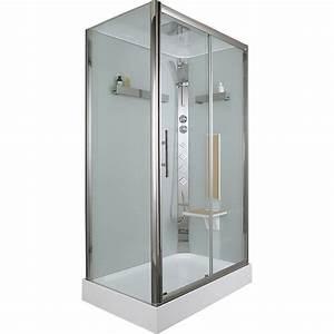 Cabine De Douche Rectangulaire : cabine de douche rectangulaire 120x80 cm ilia ch ne ~ Melissatoandfro.com Idées de Décoration