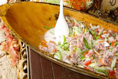 but cuisine signature a taste of tahiti poisson cru tahiti com