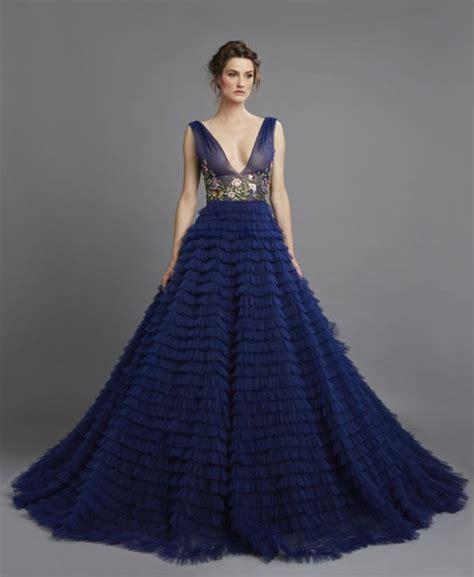 10 robes de mari 233 e d un bleu 233 poustouflant pour se