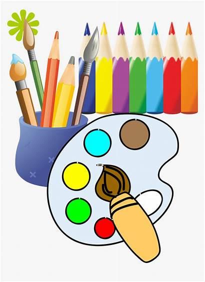 Clip Drawing Painting Paintbrush Clipart Draw Pngitem