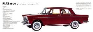 1965 Fiat 1500L brochure