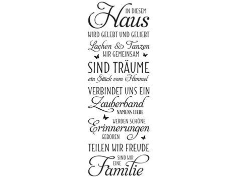Wandtattoo Banner In Diesem Haus Von Klebeheld®de