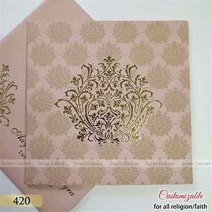 Sc 0420 seven colours card for 420 wedding invitations
