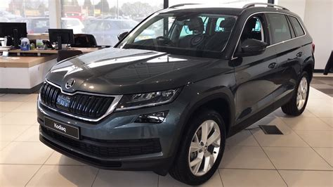 skoda kodiaq edition  quartz grey   reg hd