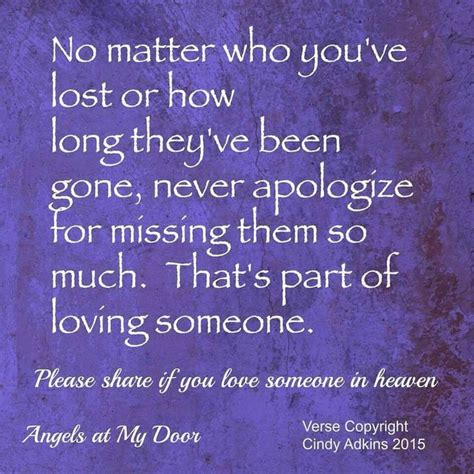 Missing Loved Ones Heaven Quotes
