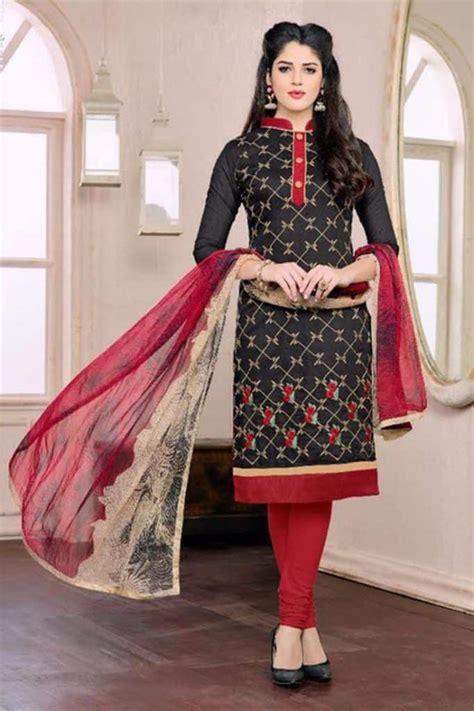 cotton churidar stitching models catalogue sheideas