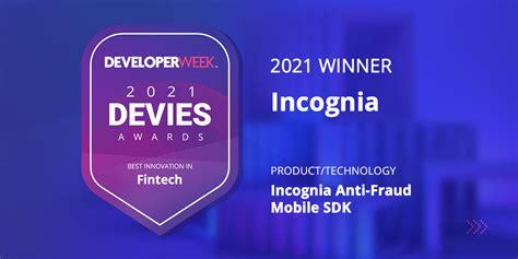 Incognia Wins 2021 DEVIES Fintech Award