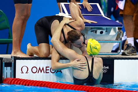 olympic swimming results  australia wins gold