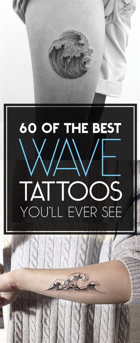 wave tattoos youll   money tattoo